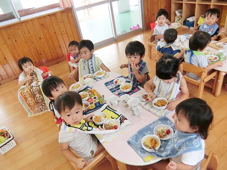 たんぽぽ組 1歳 給食
